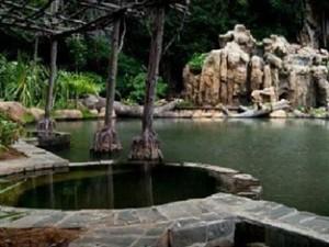 Geothermal Hot Springs Dipping Pools